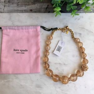 Kate Spade🎀🎀Bauble collar necklace NWT